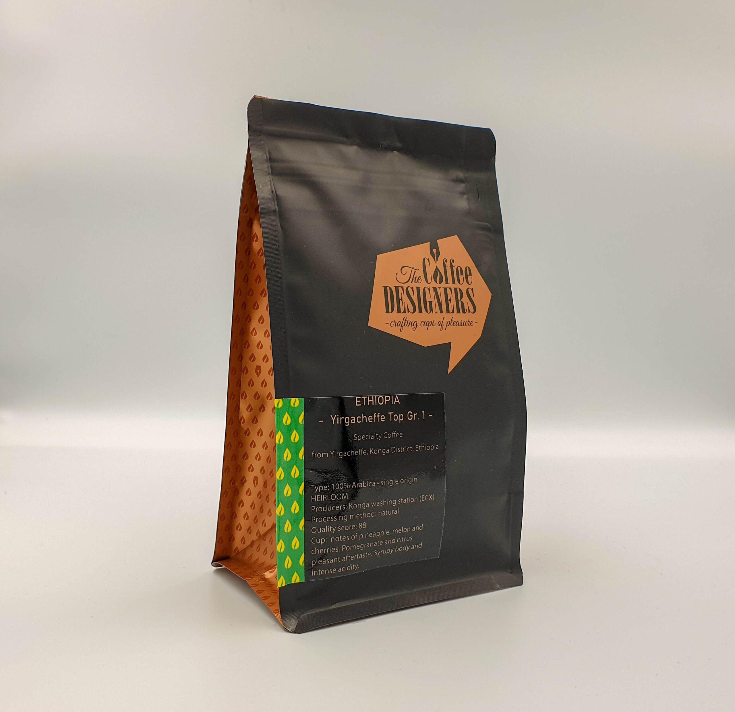 Cafea de specialitate_Ethiopia Yiragacheffe Top Gr. 1_Coffee Designers
