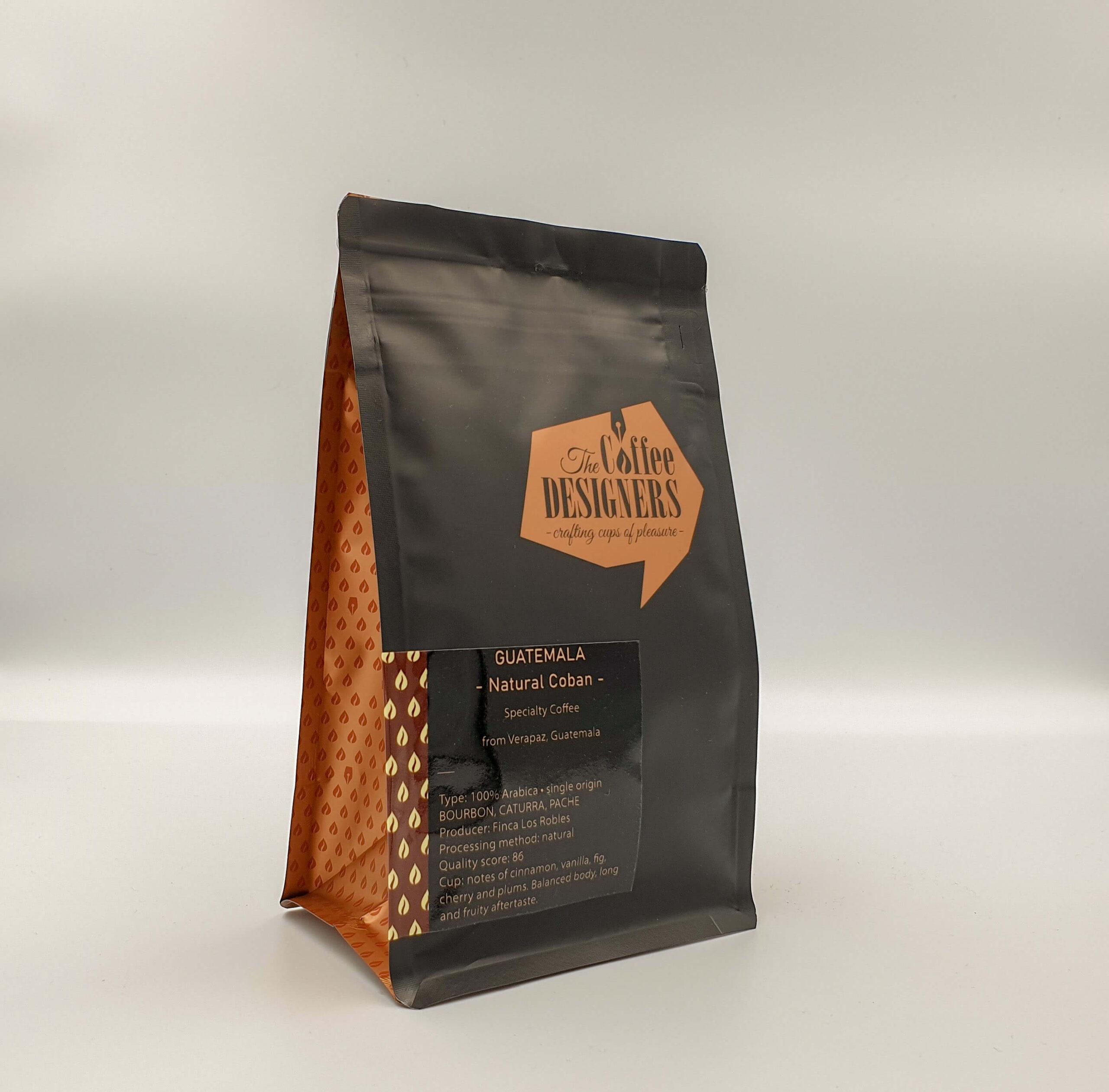 Cafea de specialitate_Guatemala Natural Coban_Coffee Designers